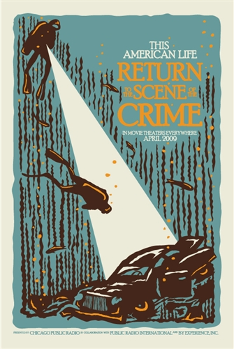 """Return To The Scene Of The Crime"" Live Event Poster"